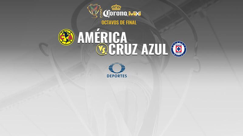 América vs Cruz Azul, Octavos de Copa MX A2017 | Resultado: 1-0 - america-vs-cruz-azul-octavos-final-copa-mx-apertura-2017-televisa-800x449