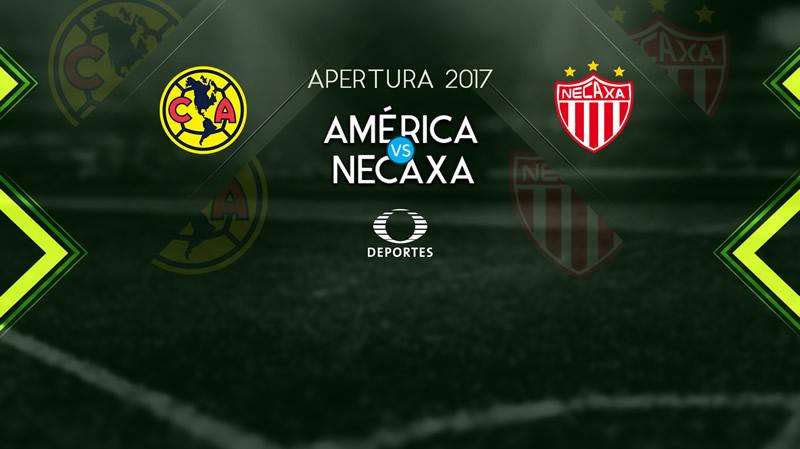 América vs Necaxa, Liga MX Apertura 2017 | Resultado: 0-1 - america-vs-necaxa-apertura-2017-televisa-deportes-800x449