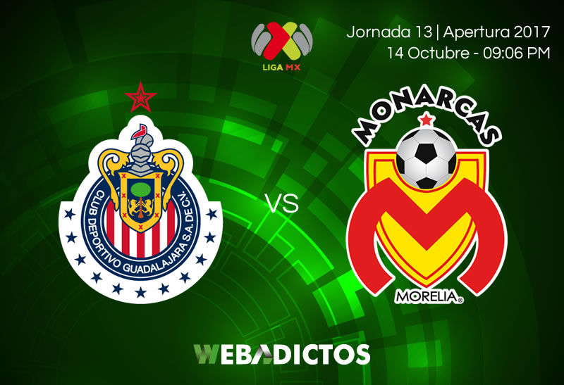 Chivas vs Morelia, Liga MX Apertura 2017 | Resultado: 1-2 - chivas-vs-morelia-j13-apertura-2017-800x547
