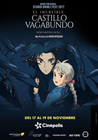 Cinépolis presentará colección de películas animadas más famosas del mundo - el-increible-castillo-vagabundo