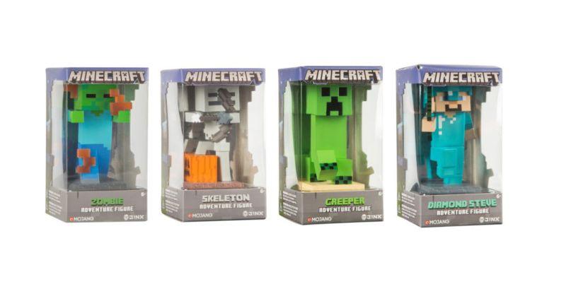 Nuevas figuras de Minecraft por J!NX - figuras-de-minecraft-800x416