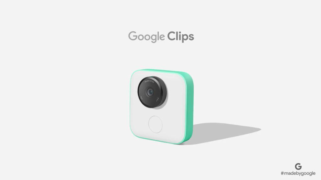 g clips Google demuestra que también puede ser una empresa de hardware con sus nuevos dispositivos