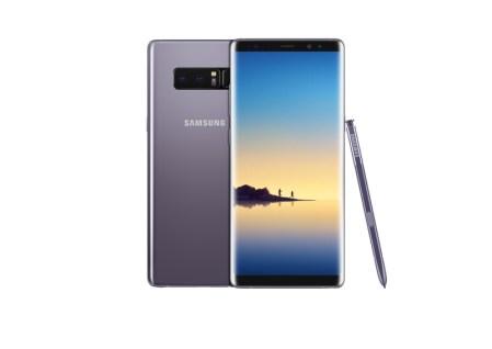 El nuevo Samsung Galaxy Note8 ¡Ya disponible en AT&T! - galaxy-note8_orchid_gray