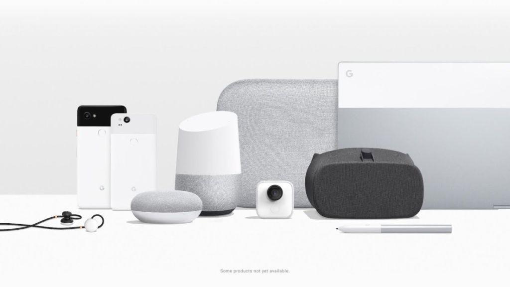 google 2017 products Google demuestra que también puede ser una empresa de hardware con sus nuevos dispositivos