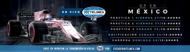 gran premio de mexico 2017 escuderia telmex 800x222 Gran Premio de México 2017 por Escudería Telmex ¡gratis!