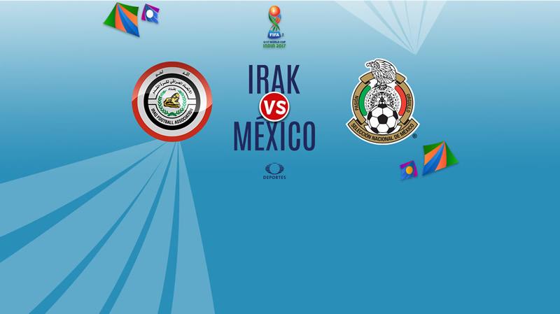 México vs Irak, Mundial Sub-17 2017   Resultado: 1-1 - irak-vs-mexico-sub-17-en-vivo-india-2017-800x449