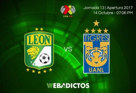 León vs Tigres, Fecha 13 del Apertura 2017 | Resultado: 1-0
