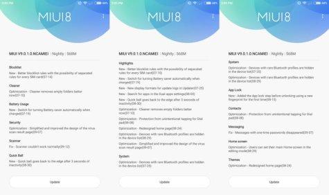 MIUI 9 llega esta semana: El Mi 6 y el Mi Max 2 ya reciben la actualización en forma nightly - mi6-m9-changelog-2