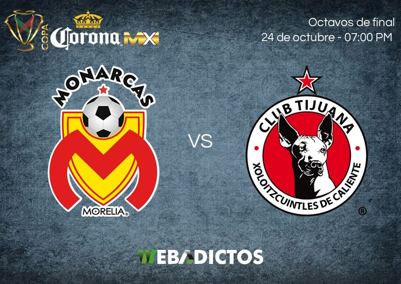 EN VIVO, Octavos de Final, Copa MX 2017 — Morelia vs Xolos