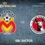 Morelia vs Tijuana, Octavos de Copa MX A2017 ¡En vivo por internet!