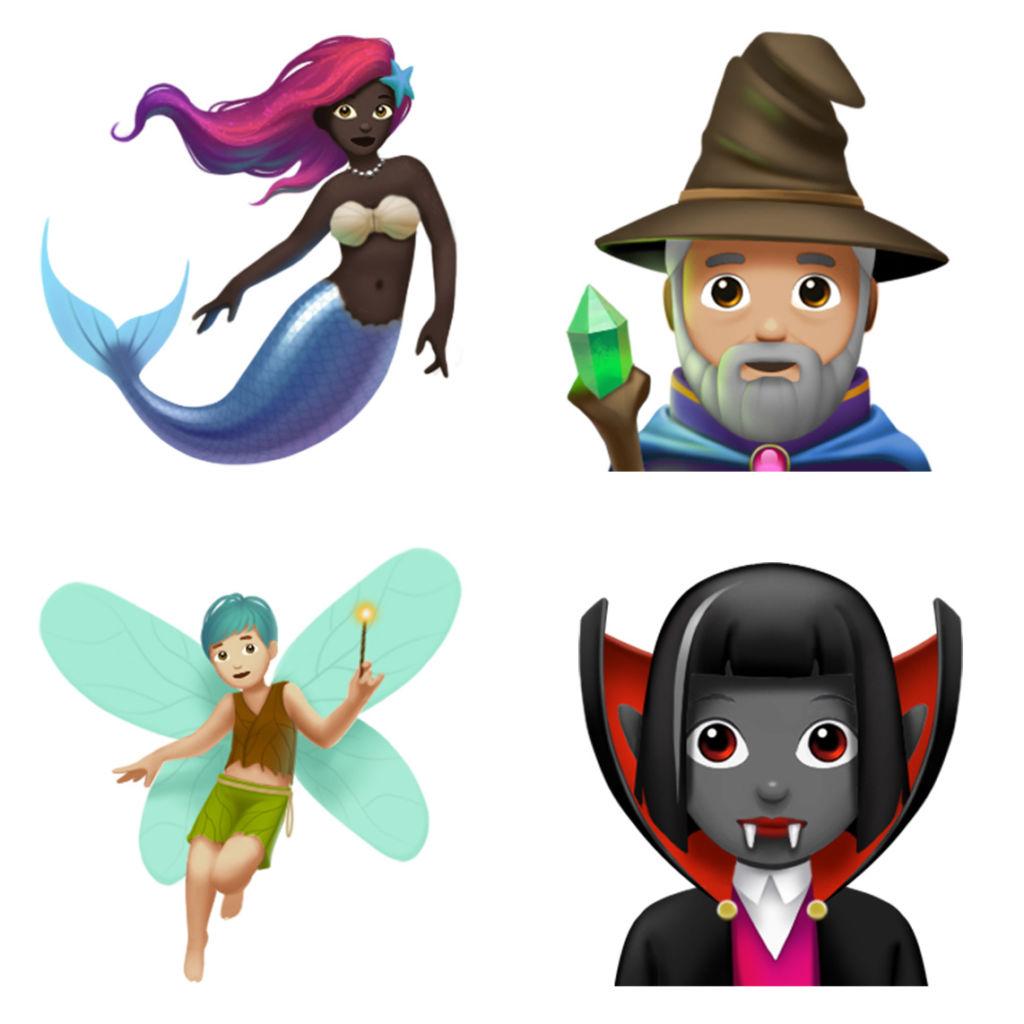 Apple presenta nuevos emojis que llegarán con iOS 11.1 - mystical