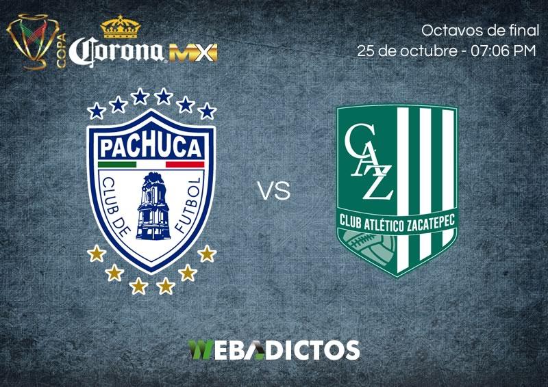 Pachuca vs Zacatepec, Octavos de Copa MX A2017 | Resultado: 5-0 - pachuca-vs-zacatepec-25-octubre-copa-mx-apertura-2017-800x566