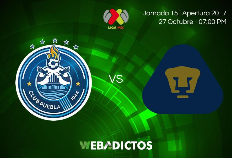 Puebla vs Pumas, Jornada 15 Apertura 2017   Resultado: 3-0 - puebla-vs-pumas-jornada-15-apertura-2017-800x547