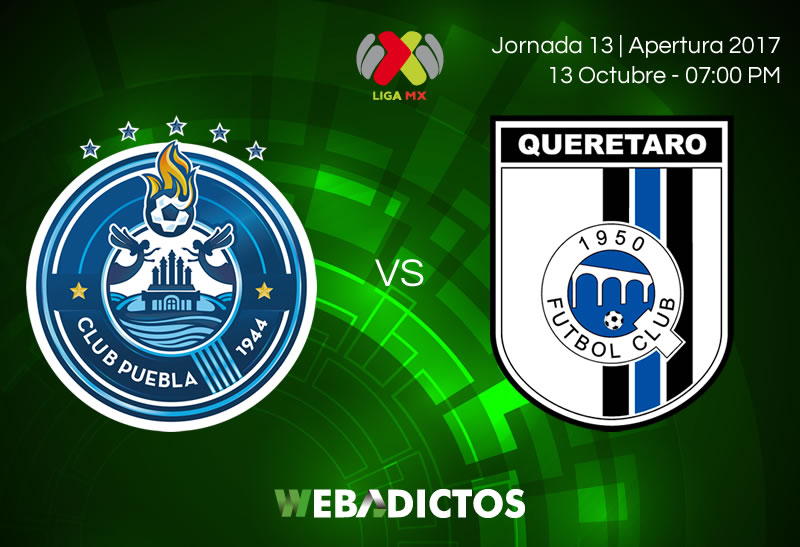 Puebla vs Querétaro, Jornada 13 Apertura 2017 | Resultado: 2-2 - puebla-vs-queretaro-j13-apertura-2017-800x547
