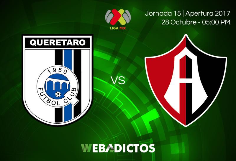 Querétaro vs Atlas, Jornada 15 del Apertura 2017 | Resultado: 2-2 - queretaro-vs-atlas-jornada-15-apertura-2017-800x547
