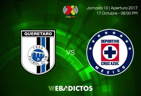 Querétaro vs Cruz Azul, J10 Liga MX A2017 ¡En vivo por internet!