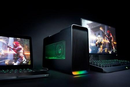 Razer lanza nueva laptop Razer Blade Stealth y gabinete externo Razer Core V2