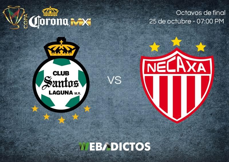 Santos vs Necaxa, Octavo de Copa MX Apertura 2017 | Resultado: 2-0 - santos-vs-necaxa-25-octubre-copa-mx-apertura-2017-800x566