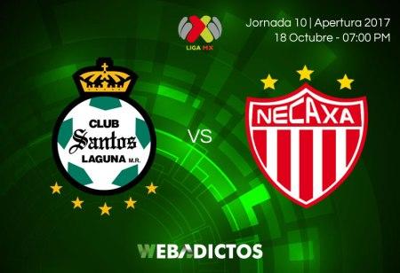 Santos vs Necaxa, Jornada 10 Apertura 2017 ¡En vivo por internet!