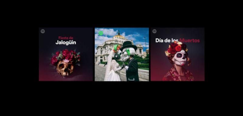 Spotify presenta playlist:Historia del Día de Muertos - spotify-dia-de-muertos-800x384