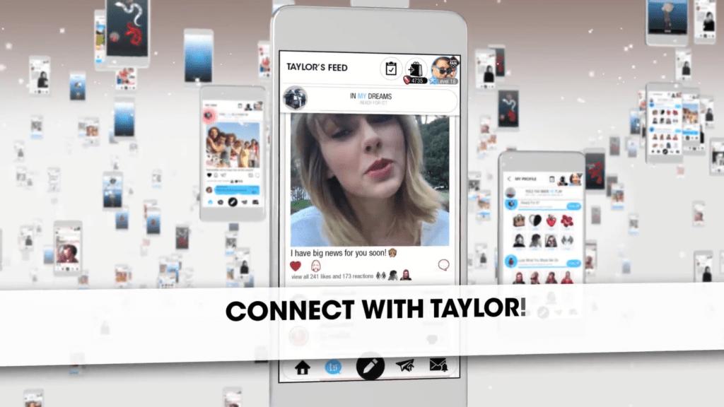 Taylor Swift presenta una red social/app dedicada totalmente a ella - taylor-swift-app