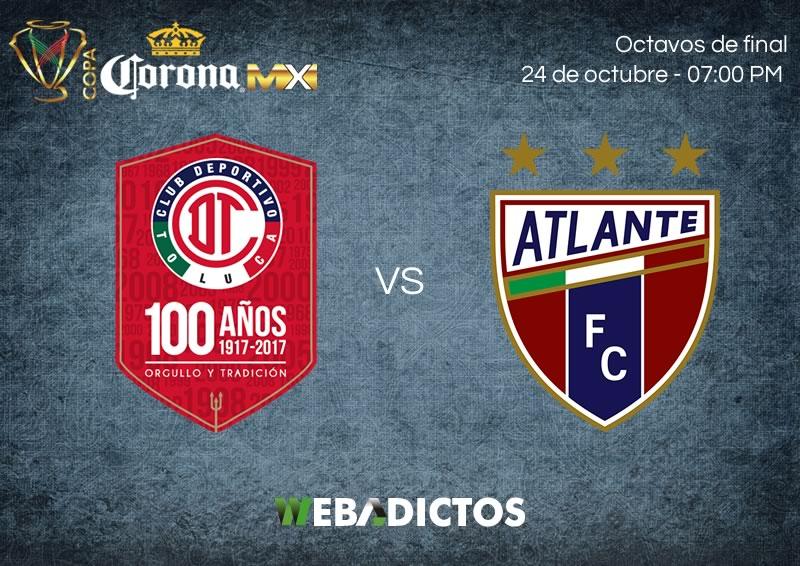 Toluca vs Atlante, Copa MX Apertura 2017   Resultado: 1 (3) - (5) 1 - toluca-vs-atlante-24-octubre-copa-mx-apertura-2017-800x566