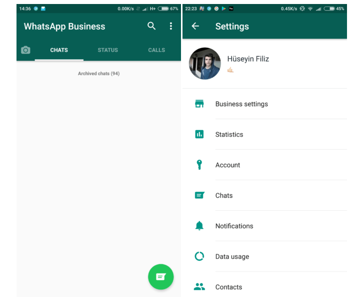 wa screen settings WhatsApp Business ya está en beta cerrada; así es como funciona