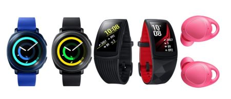 Nuevos wearables Samsung: Gear Sport, Gear Fit2 Pro y Gear Icon X ¡Ya disponibles en México!