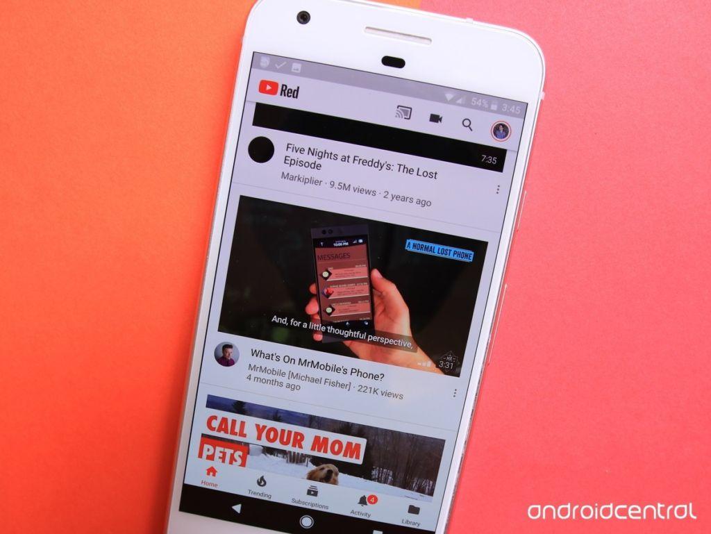 Esta es la nueva función que viene en YouTube videos en Android
