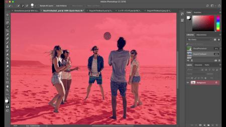 Photoshop permitirá seleccionar personas de manera más simple gracias a Inteligencia Artificial