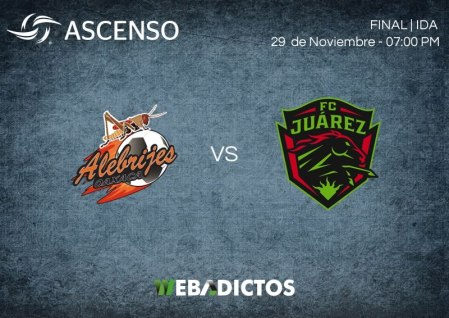 Alebrijes vs Juárez, Final del Ascenso MX A2017 | Ida | Resultado: 1-0