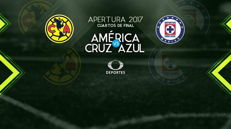América vs Cruz Azul, en la liguilla A2017 | Resultado: 0-0 - america-vs-cruz-azul-vuelta-liguilla-a2017-800x449
