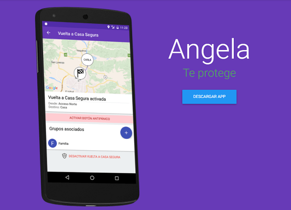 5 apps de seguridad para mujeres - angela-_te_protege