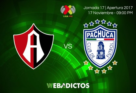 Atlas vs Pachuca, J17 Liga MX A2017 ¡En vivo por internet!
