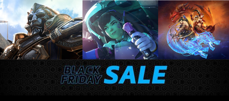 Blizzard en el Black Friday 2017 con grandes descuentos - black-friday-de-blizzard
