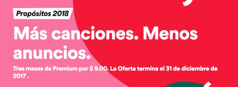 ¡Black Friday Spotify! tres meses de Premium a tan solo $9 pesos - black-friday-spotify-800x293