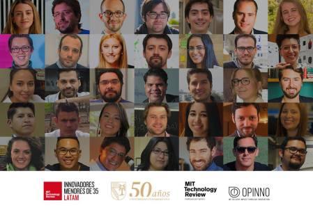 Premian a los cinco Innovadores menores de 35 más influyentes de Latinoamérica