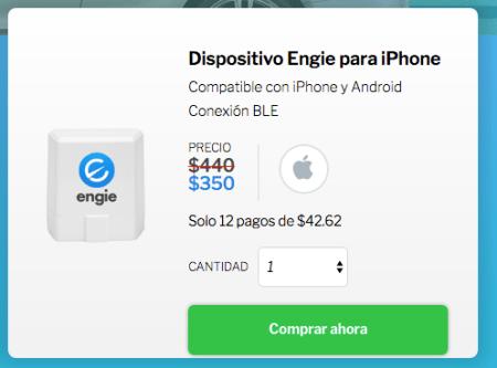 Convierte cualquier coche en un auto inteligente con Engie, ¡ya disponible en México! - dispositivo-engie-para-iphone