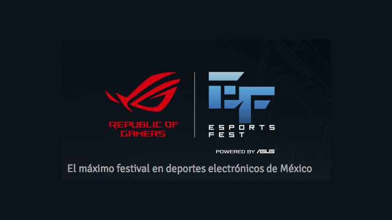 esports fest mexico 800x450 Anuncian ROG ESPORTS FEST, el mejor evento de eSports en México
