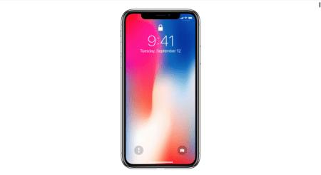 Apple alerta que la pantalla del iPhone X podrá sufrir de «persistencia de imagen», debido a que es OLED
