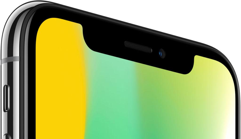 iphone x notch area Usuarios del iPhone X reportan que el auricular produce sonidos raros