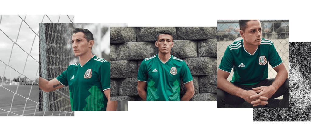 Nueva playera de la Selección Mexicana para Rusia 2018 es presentado por  adidas efbe078bc1a3a