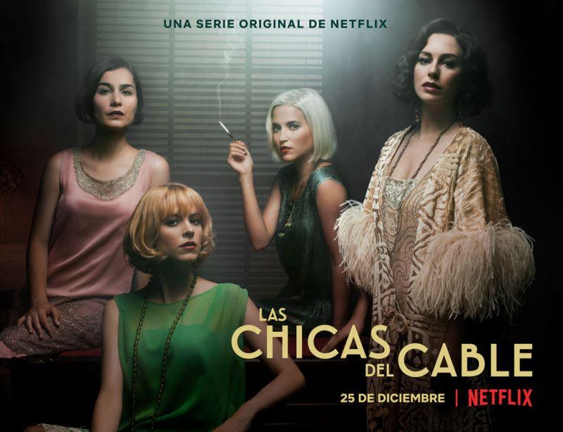 Netflix anuncia el tráiler y póster de la segunda temporada de Las chicas del cable - laschicasdelcable-netflix-800x613