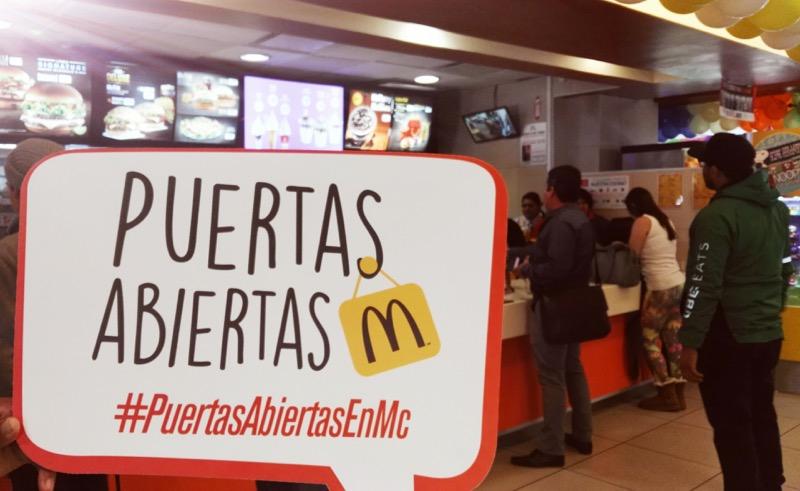 mcdonalds celebra el dia nacional de puertas abiertas 6 McDonald's celebra el Día Nacional de Puertas Abiertas