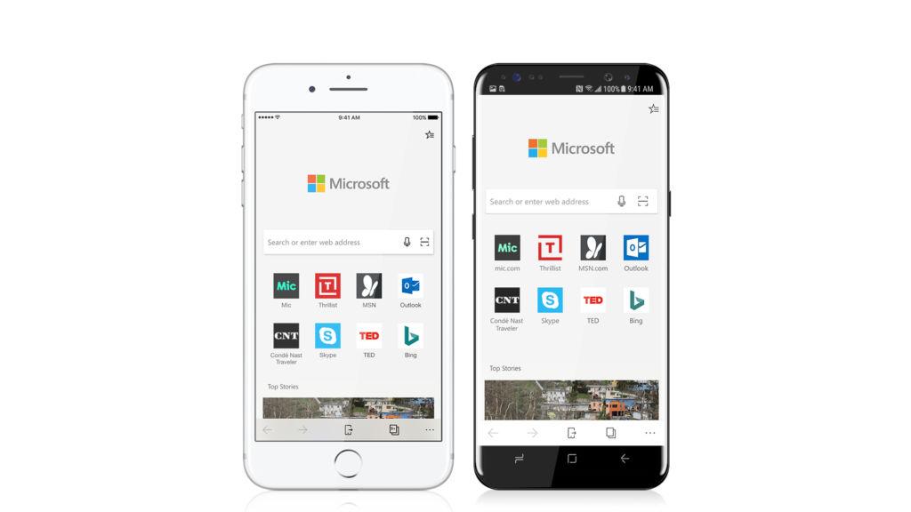 Microsoft Edge ya está disponible de manera pública para iOS y Android - microsoft-edge-ios-android