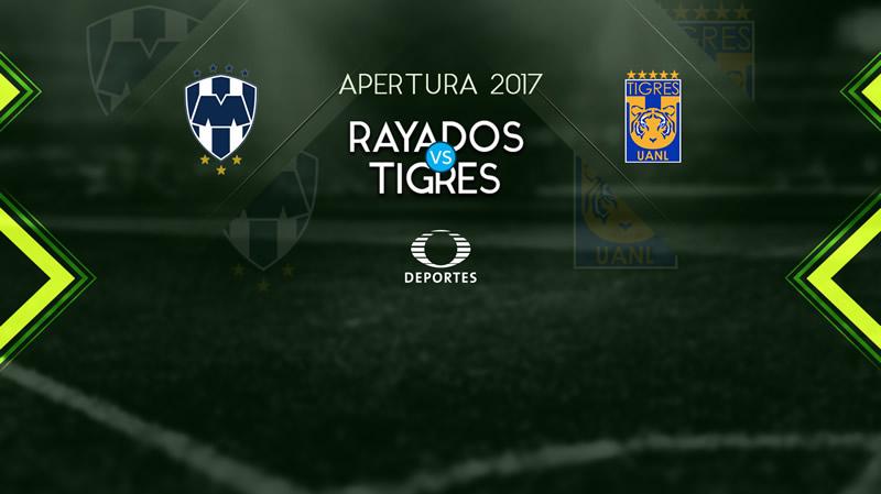 Monterrey vs Tigres, Clásico Regio J17 A2017 | Resultado: 2-0 - monterrey-vs-tigres-j17-apertura-2017-800x449