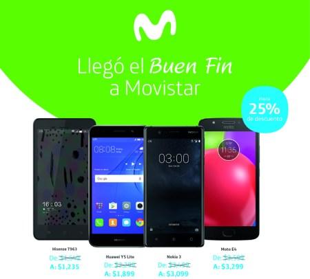 Promociones y ofertas del Buen Fin 2017 en Movistar ¡Conócelas!