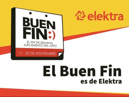 Ofertas del Buen Fin 2017 en Elektra