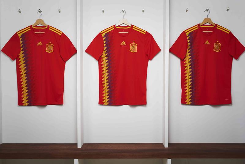 playeras rusia 2018 adidas 4x3 spain shirt 800x534 adidas Football revela los uniformes de las selecciones para Rusia 2018