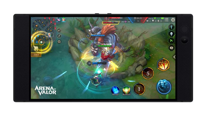 razer phone games arena of valor 02 800x450 Razer Phone, el smartphone para gamers ¡Lo último en entretenimiento móvil!
